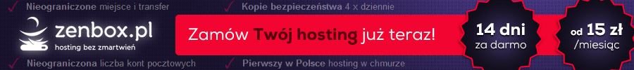 Zenbox.pl promocja